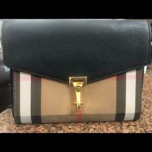 Burberry Vintage Check and Leather Crossbody